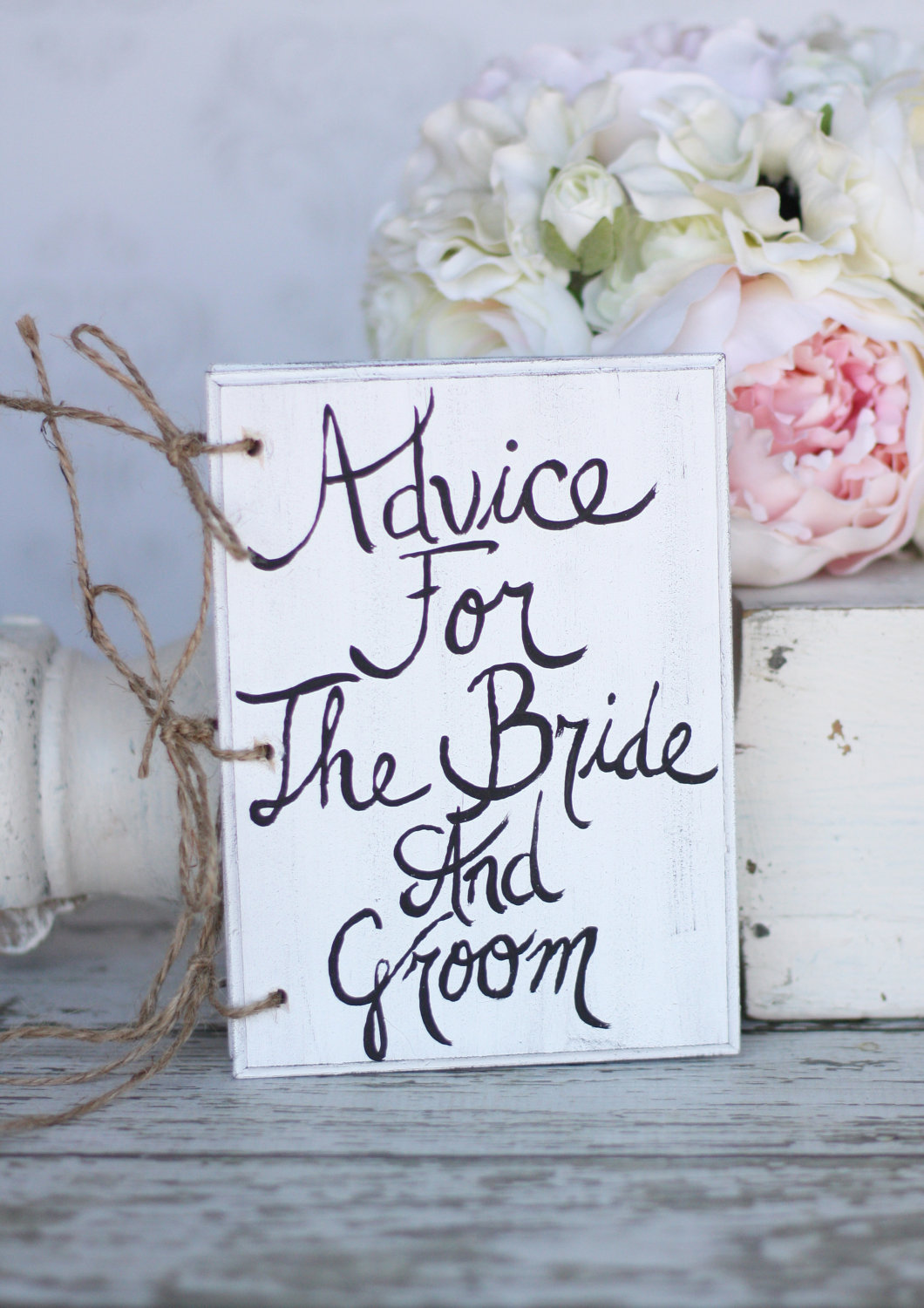 Wedding advice book