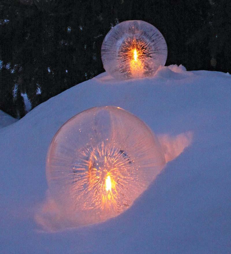 Christmas DIY globes