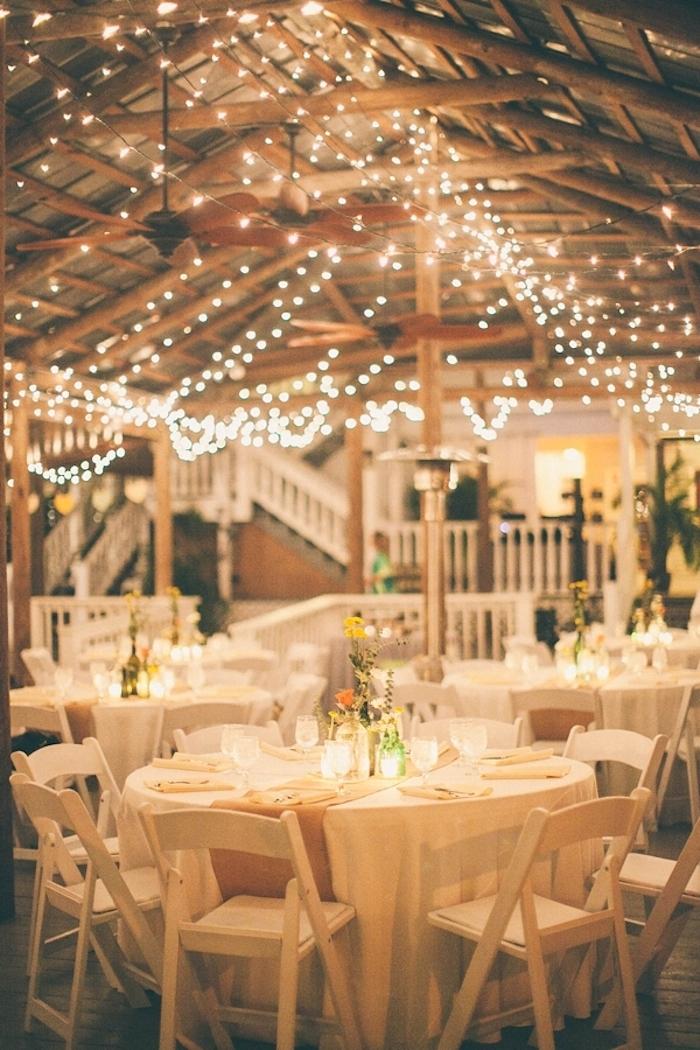 Fairy lights reception