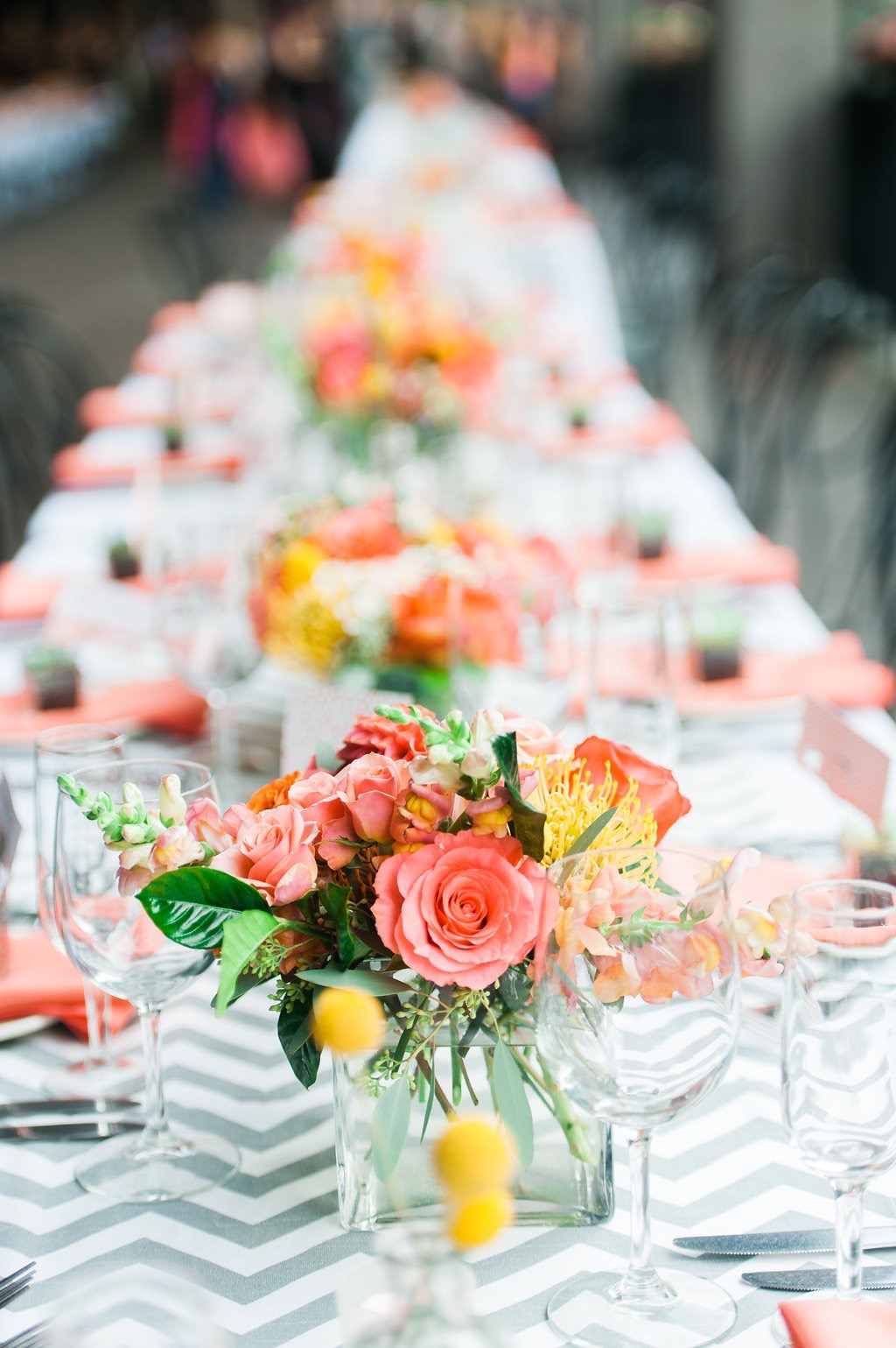 TABLESCAPES FOR A SUMMER WEDDING