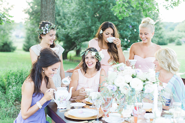 Afternoon tea hen party