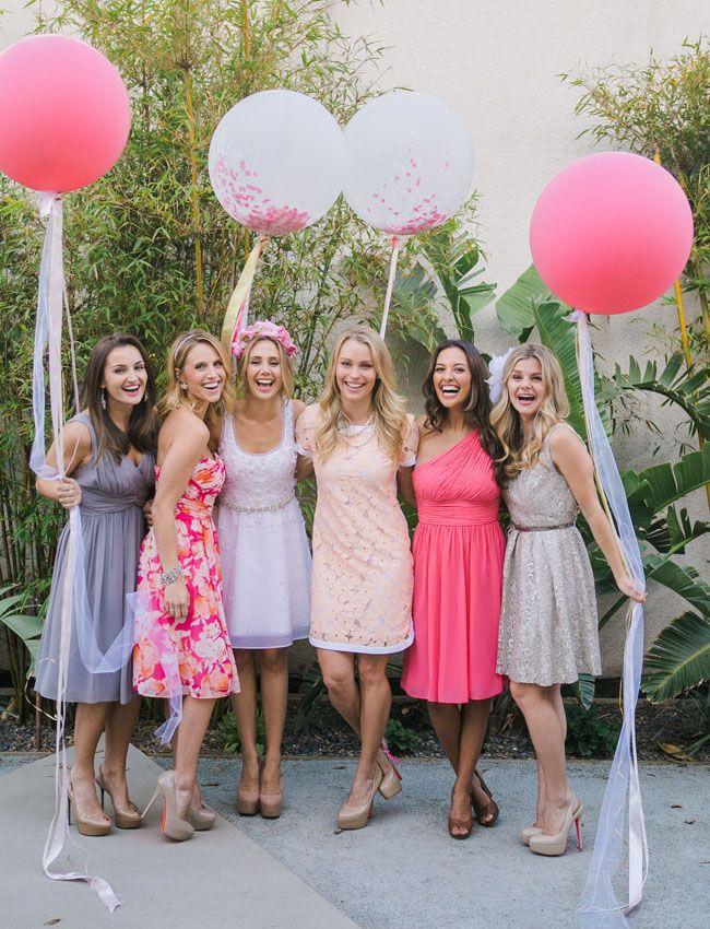 Hen party balloons