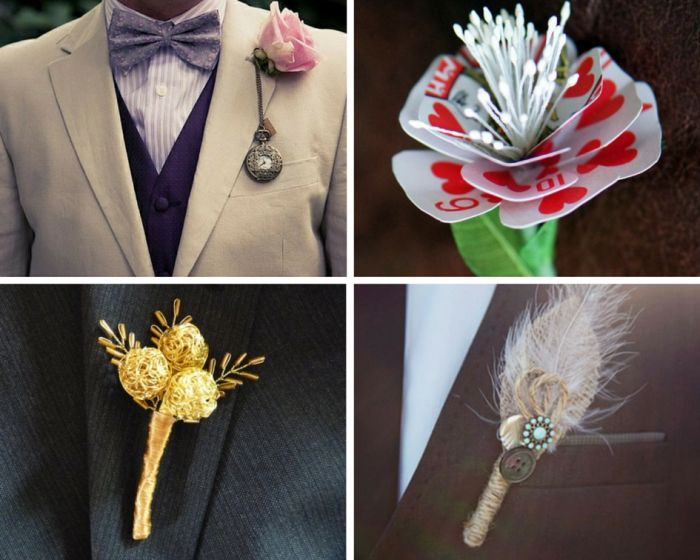 A fairytale decor buttonhole done