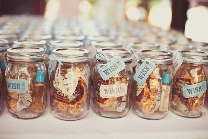 Edible favour jars
