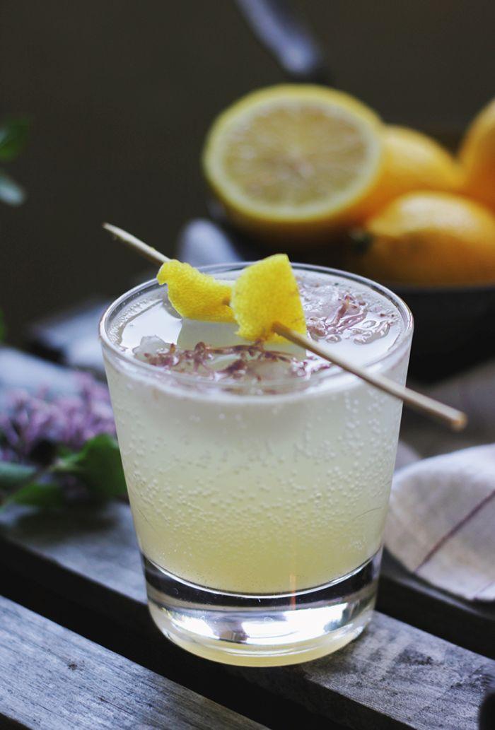 Pear Lemon FIzz