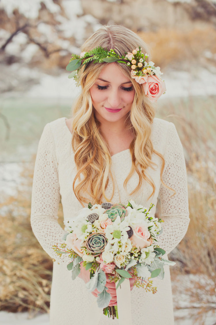 10 wedding ideas for boho socialandpersonalweddings boho flower crown izmirmasajfo
