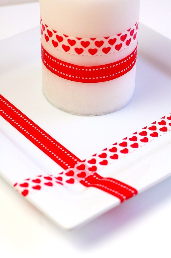 Red washi tape