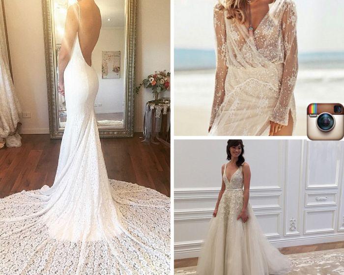 Instagram Inspiration Wedding Dresses On Inspo Top 5