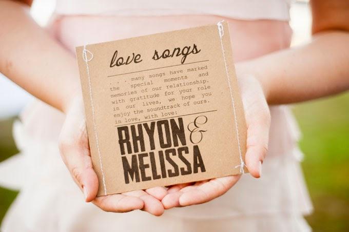 Music CD favour