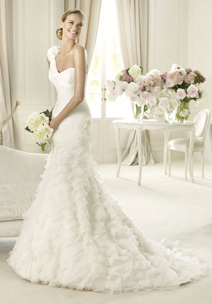 wedding dress shape guide