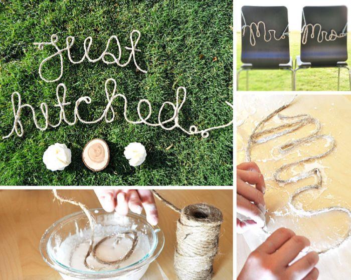 DIY wedding ideas,