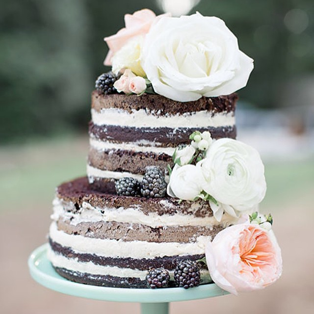 Naked groom cake