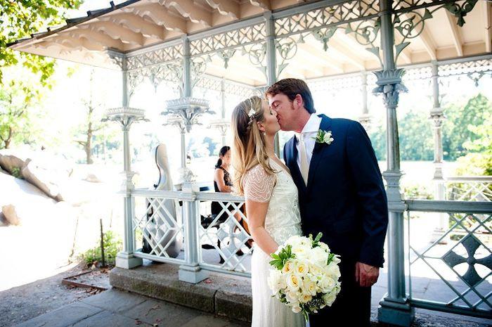 real wedding elopement in New York City