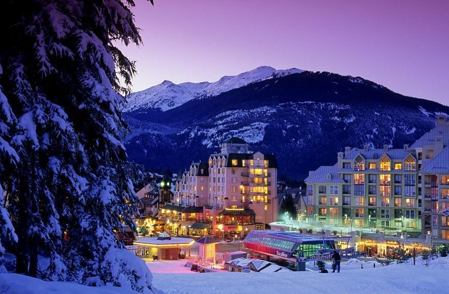 Whistler Village honeymoon