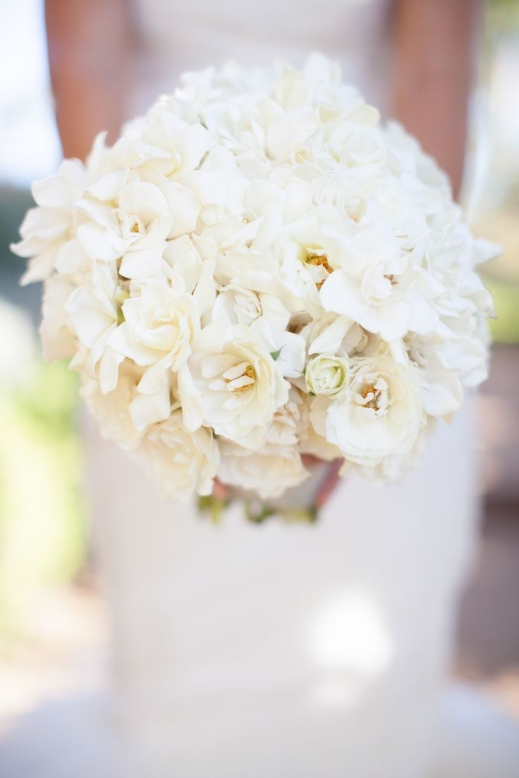 White magnolia bouquet