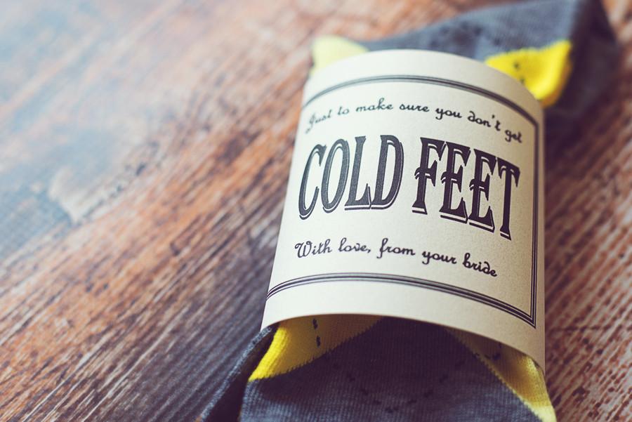 Cold feet socks