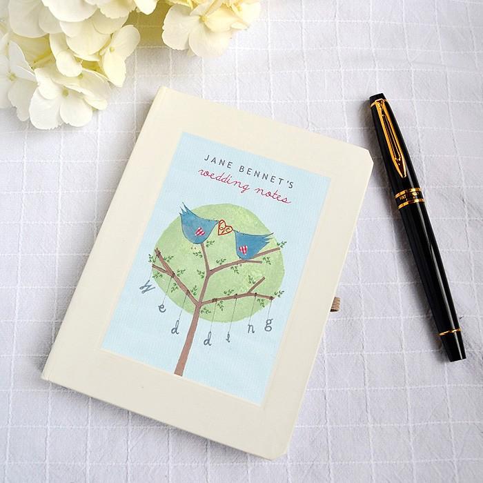 Wedding planning notebook