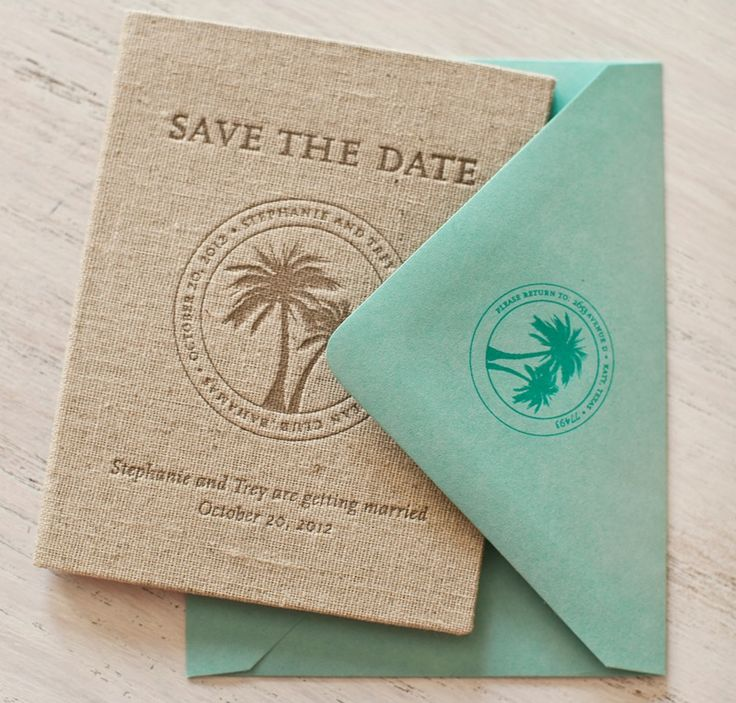 destination save the date