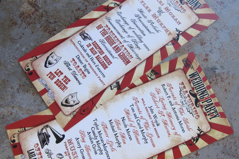 carnival programmes