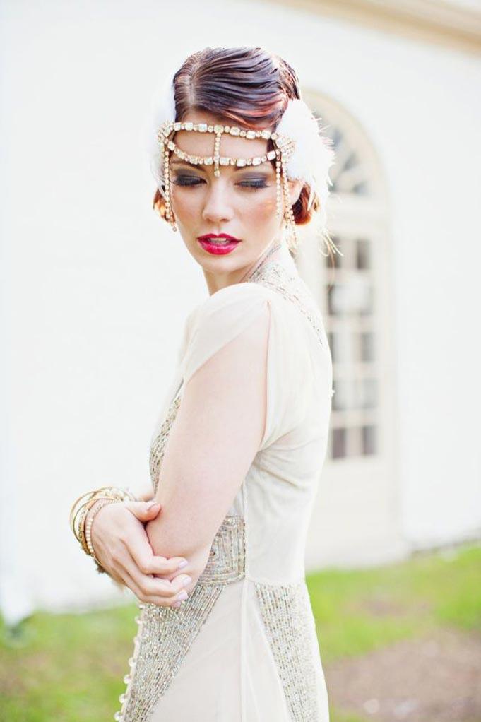 gatsby bride style