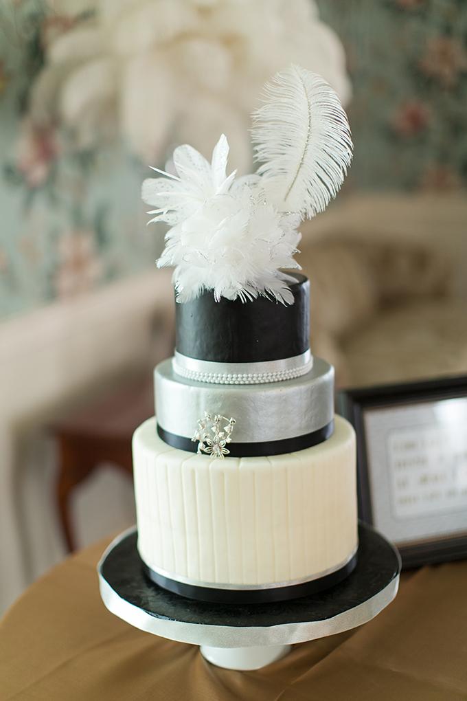 gatsby style cake