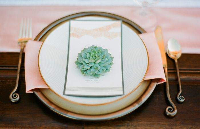 place setting - this modern romance