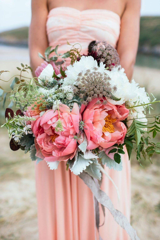 big coral flowers