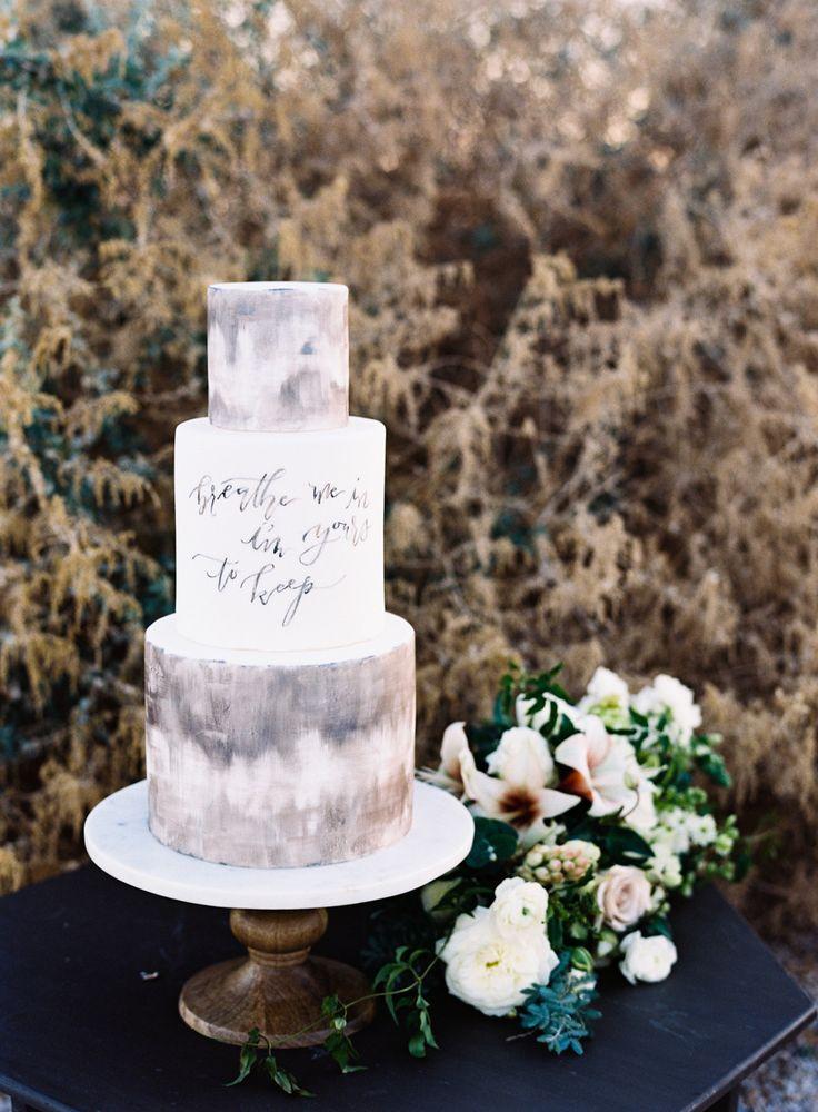 grey marble cake