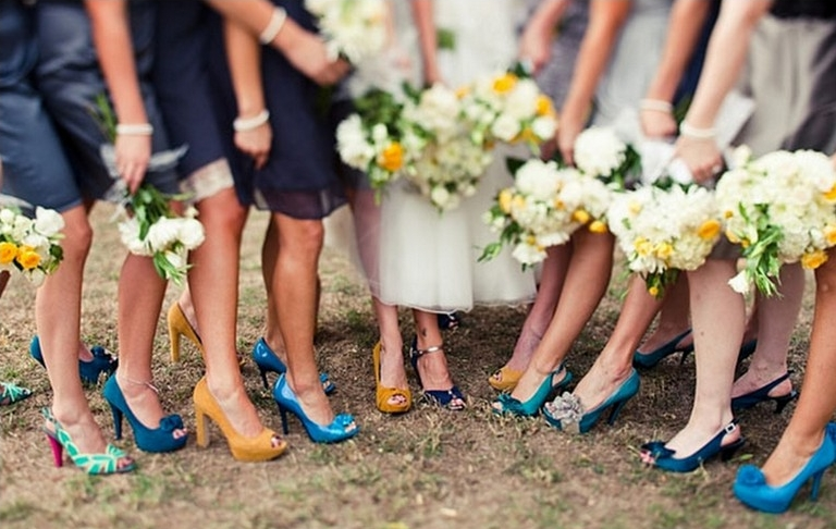 chief bridesmaid shoes