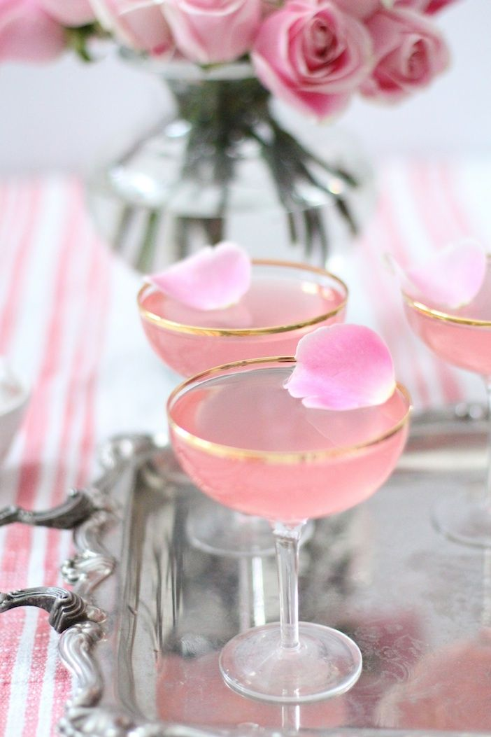rose cocktails