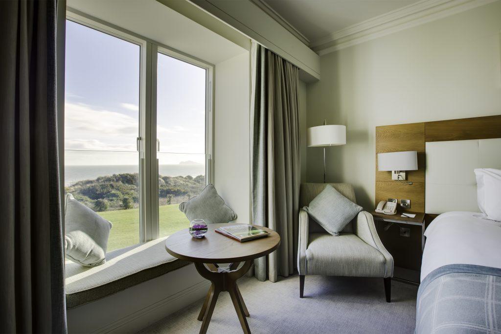 Portmarnock Hotel & Golf Links Bedroom view
