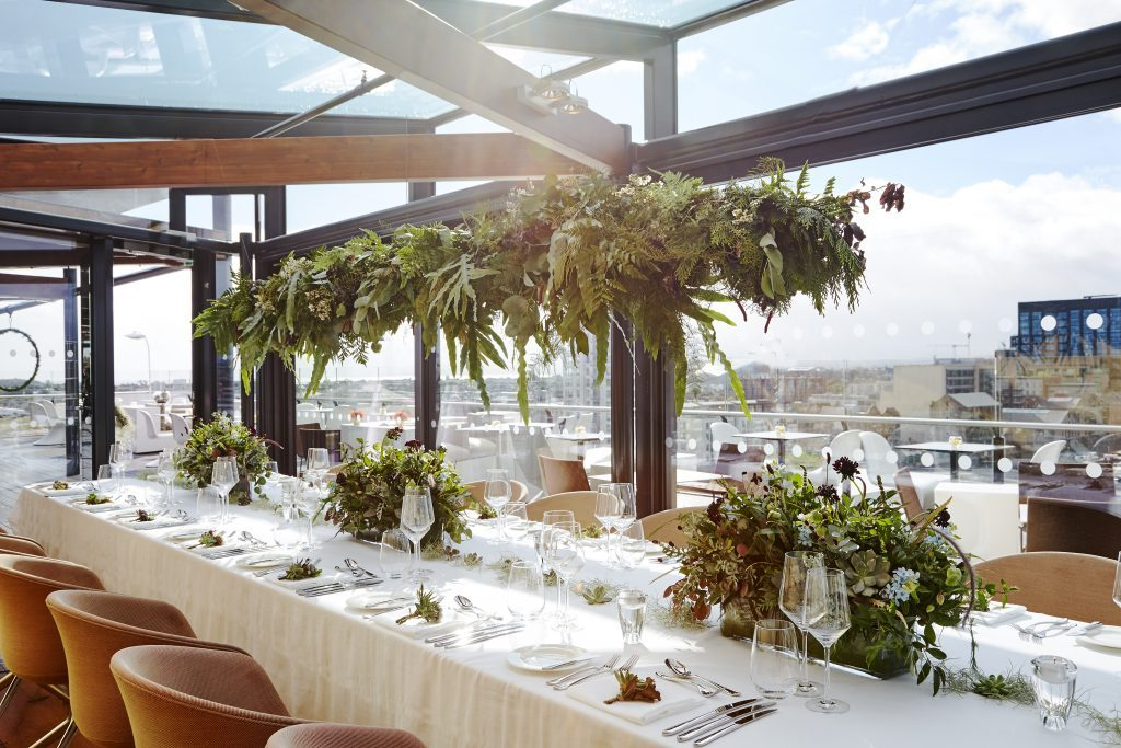 Love at The Marker - Private Dining on the Rooftop
