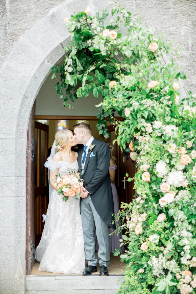 Ciara and Peter at Tankardstown House Hotel. Photography by Christina Brosnan.