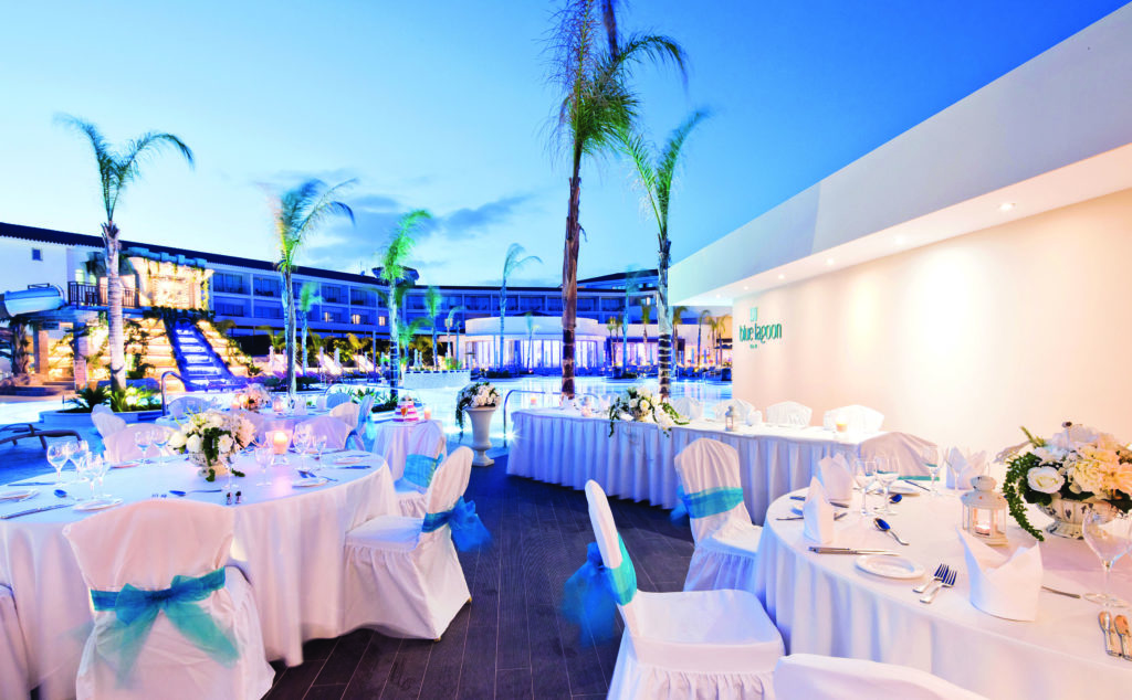 Wedding Reception in Cyprus Resort