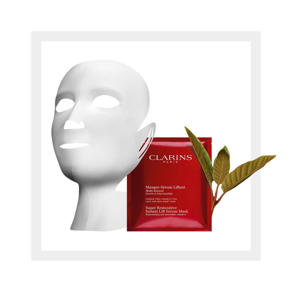 Clarins Super Restorative Serum Mask
