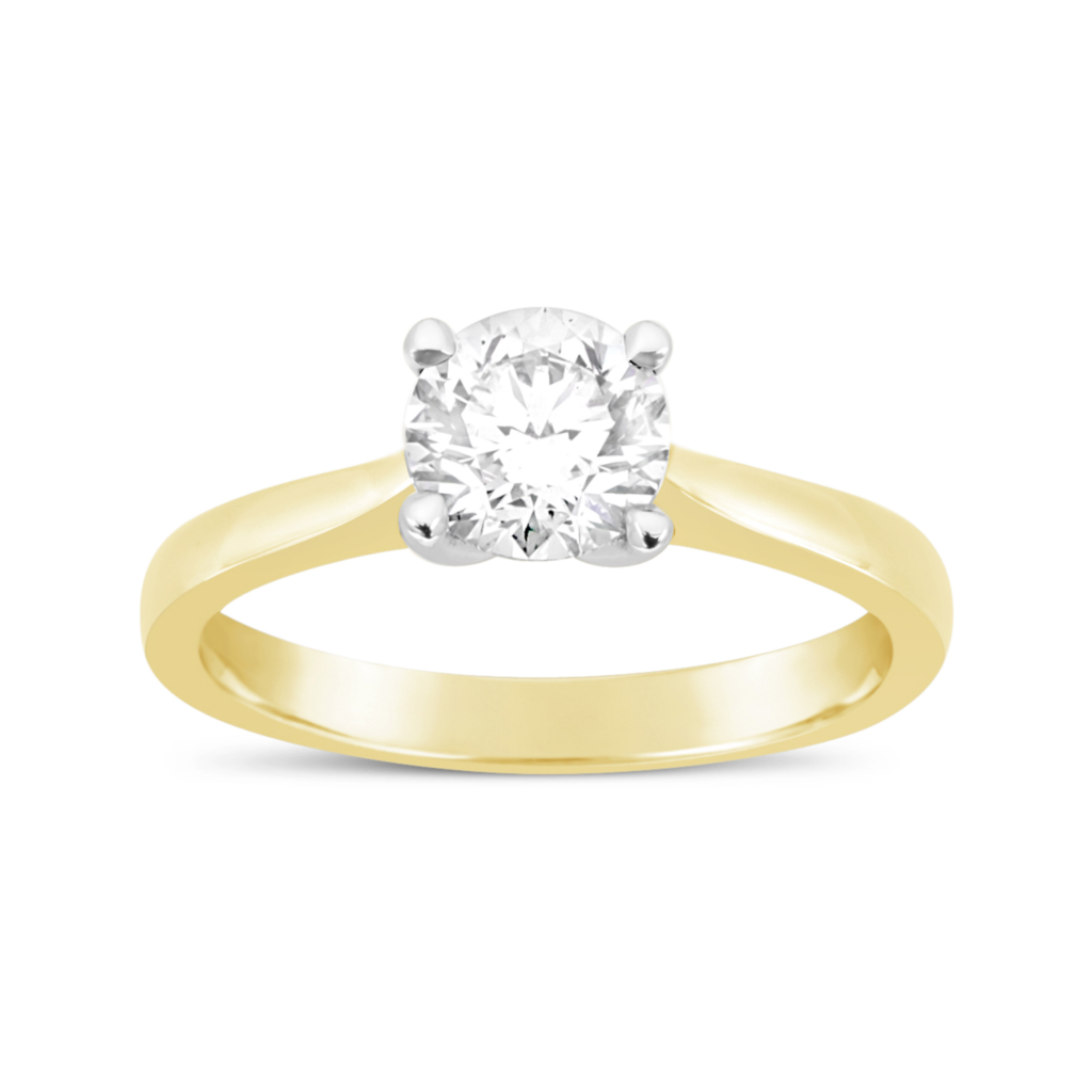 Weir & Sons 18k Yellow Gold 1ct Solitaire Engagement Ring, €9,750.