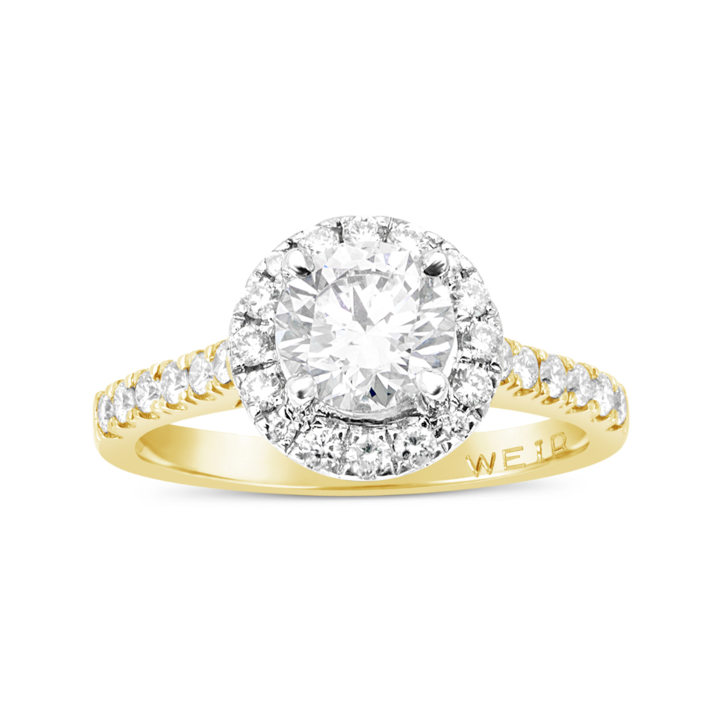 Weir & Sons 18K Gold 1ct Diamond Engagement Ring, €11,500.