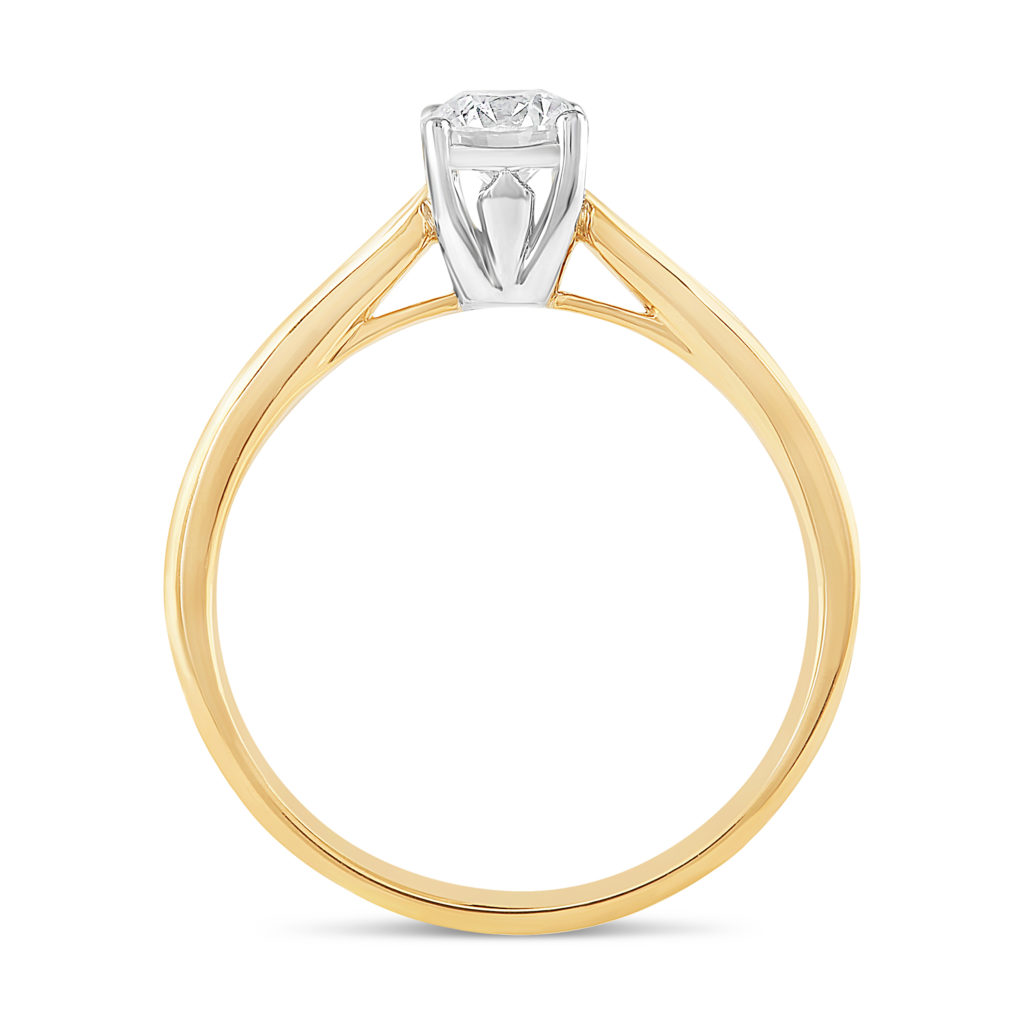 Fields the Jewellers 18ct Yellow Gold 0.75ct Diamond Fields Setting Ring 3,500