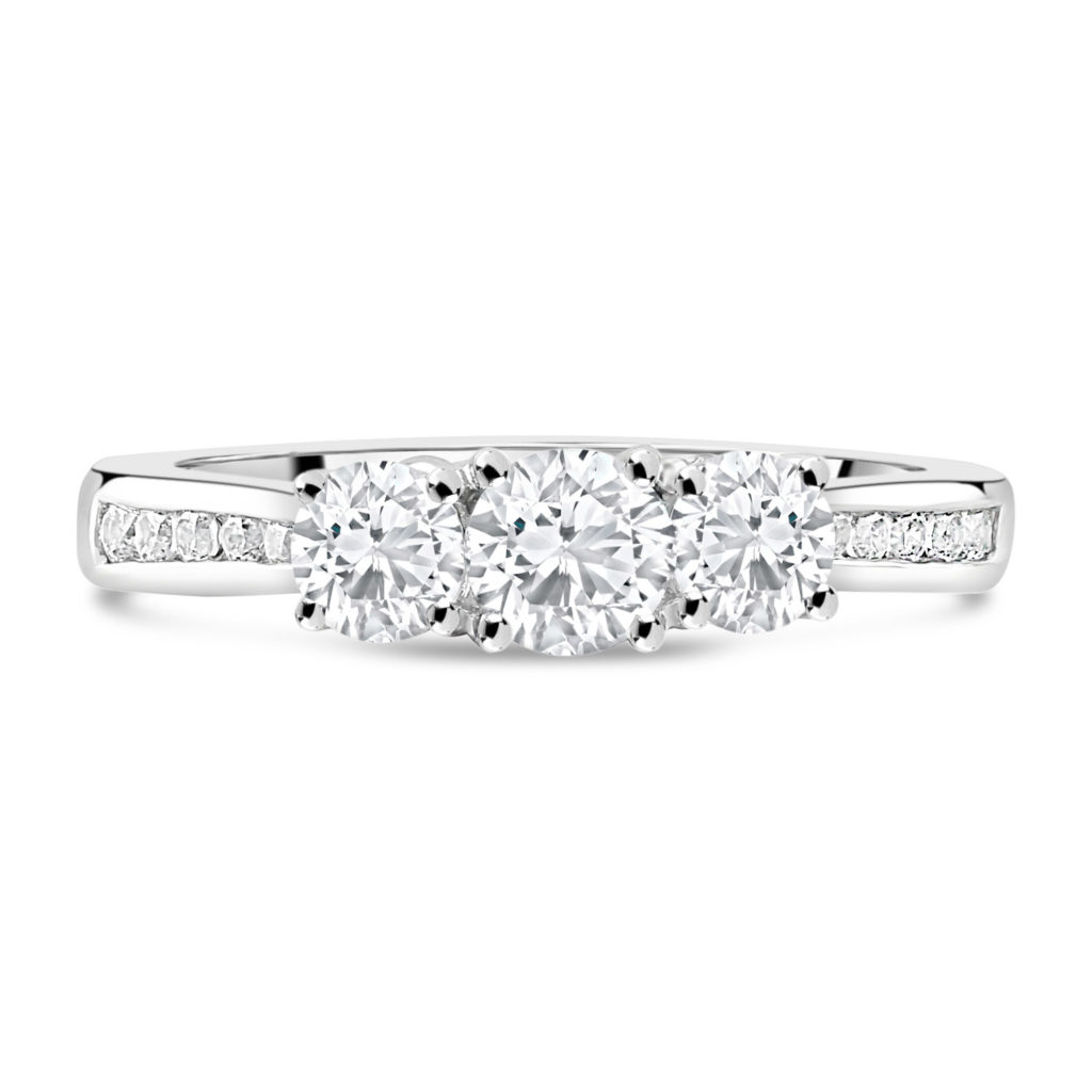 Fields the Jeweller 18ct White Gold 1.00ct Trilogy Diamond Fields Setting 3,50018ct White Gold 1.00ct Trilogy Diamond Fields Setting 3,500