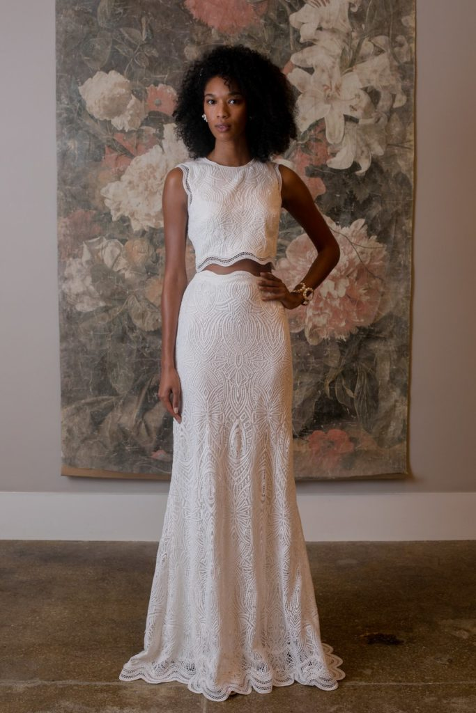 Wedding separates by BHLDN
