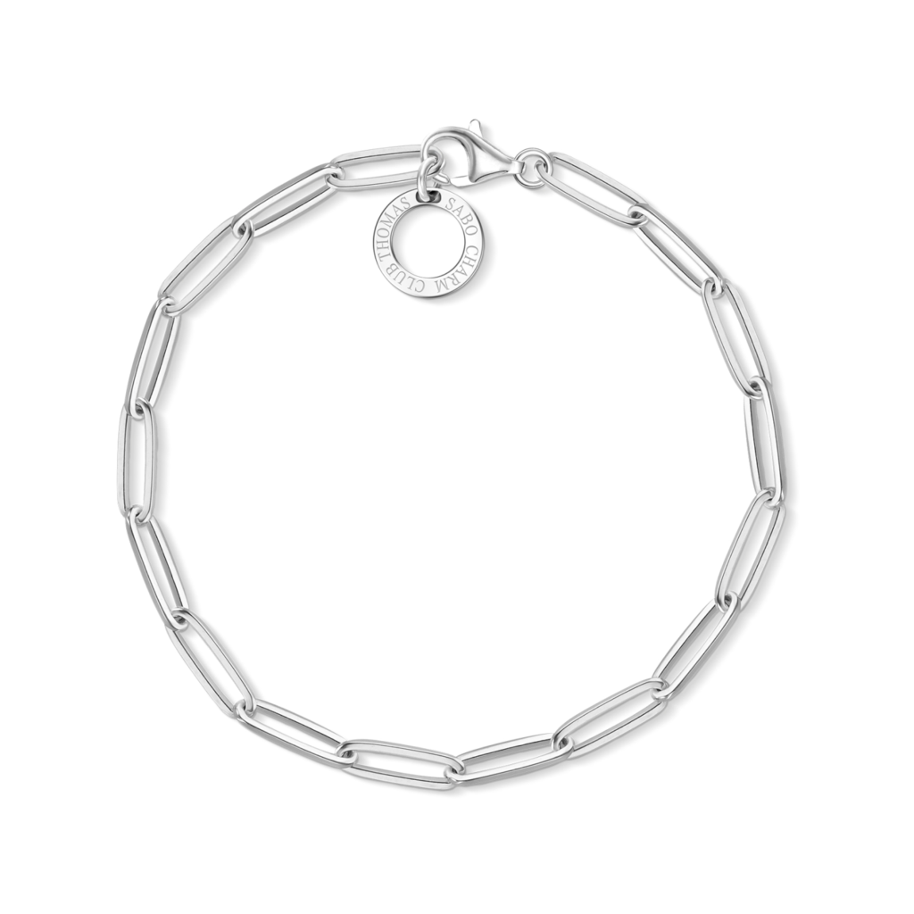 Thomas Sabo Silver Link Charm Bracelet €39 (Charms can be added and personalised to each bridesmaid)