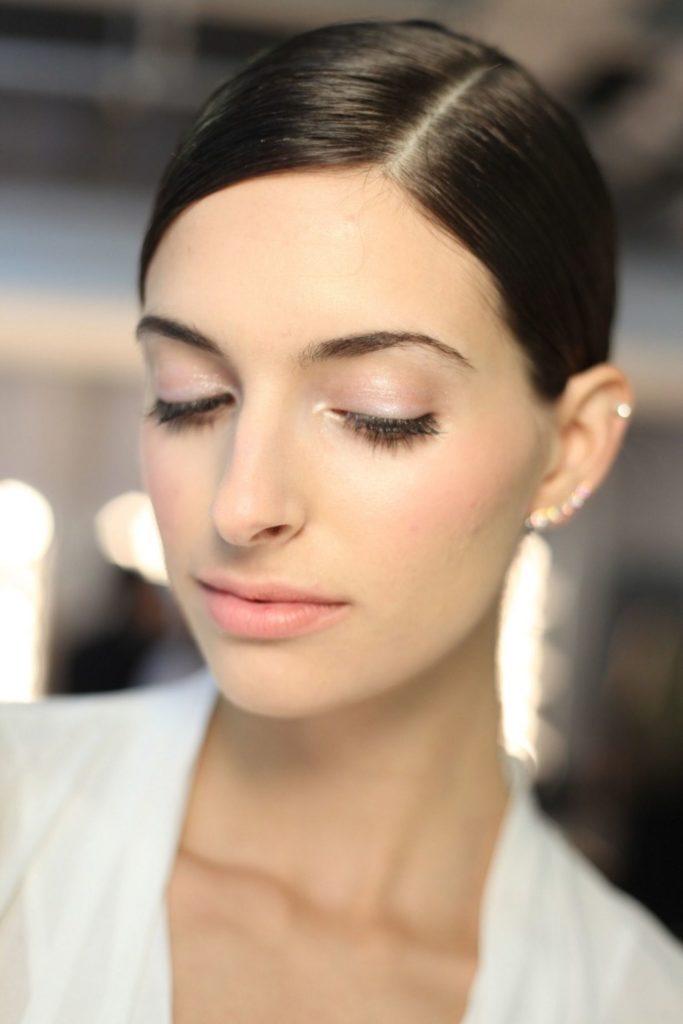 Natural Makeup by Sarah Lucero for Stila Cosmetics Alice + Olivia show