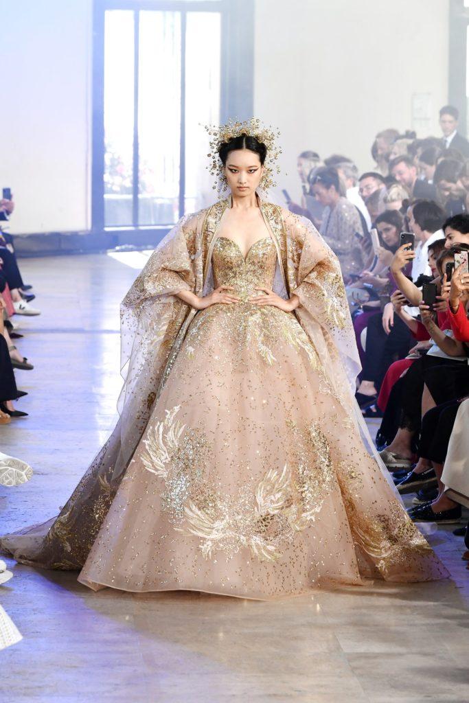 Elie Saab fashion show haute couture autumn-winter 2019-2020 © Dominique Charriau / WireImage