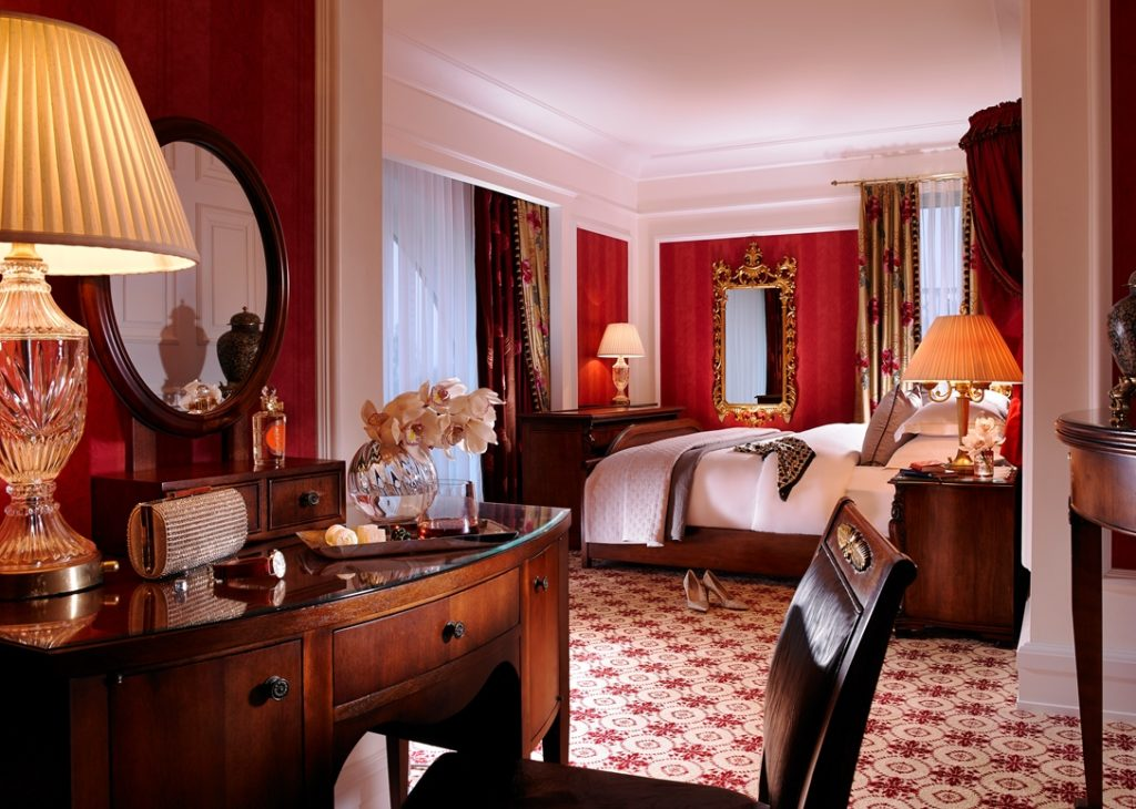 Presidential Suite luxury mini-moon atPowerscourt Ireland