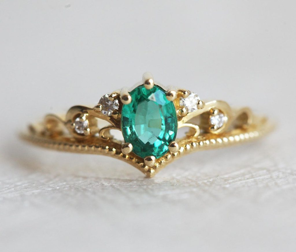 Vintage Emerald by Capucinne on Etsy